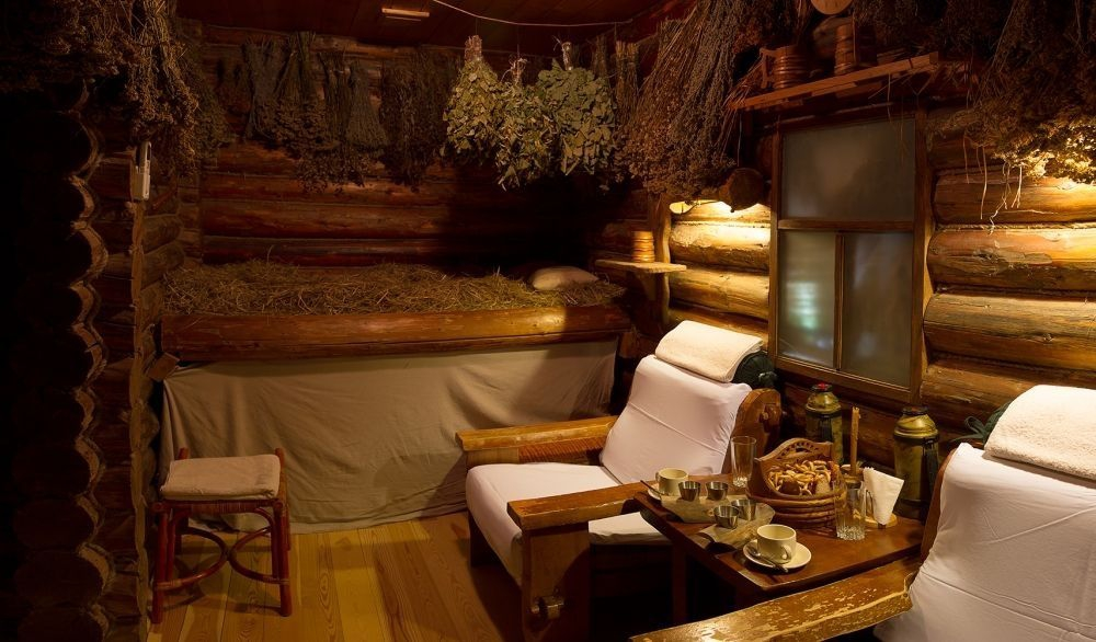 Russian banya from the inside